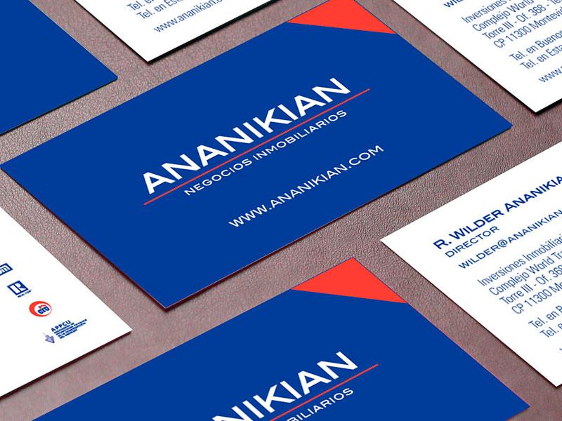 Ananikian - Branding