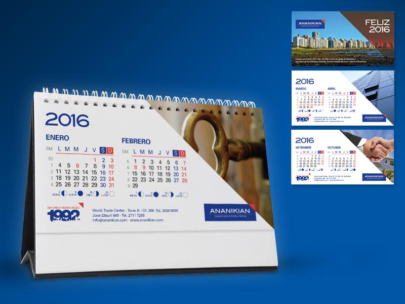Ananikian - Calendarios