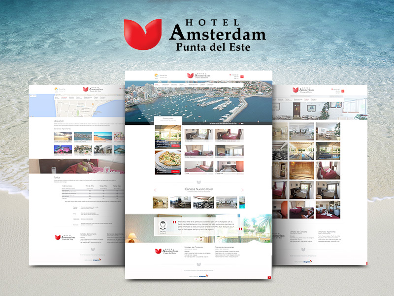 Hotel Amsterdam - Web