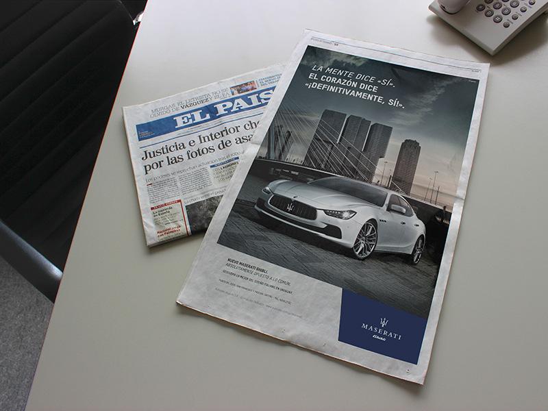 Maserati - Publicidad