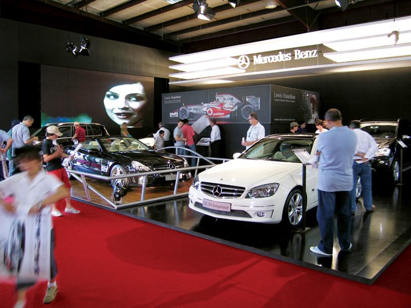 Mercedes-Benz - Elaboración Stand